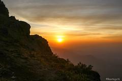 Sunrise at Mullayanagiri (ravitejanadiminti) Tags: sunlight sky sunrays sun sunlover sunrise orangesky travel trekking trek india karnataka morning sunriselover peak canon80d canon view nature