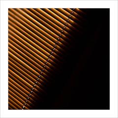early riser (Howard Sandford) Tags: minimalism shadow abstract morning sunshine venetianblind blind slats hfs