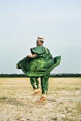 """Losing"" Amos. IV. (adeoluosibodu) Tags: photoseries documentary landscape horizon jump attire fineart green"