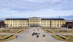 Schloss Schönbrunn in Vienna (Adnan T.) Tags: schonbrunn schloss castle wien vienna austria osterreich sky view distance amazingview day daily outdoor outdoors landscape landscapephotography landscapes landscapelovers photolovers photography photographer pic picture photo picoftheday nikon nikonphotography travel traveling traveler world travelblog blog dailypic city town capital beautiful amazing dramatic enjoy relax holiday