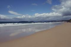Salvation (Swebbatron) Tags: australia 2008 queensland rainbowbeach beach sea sky clouds reflection fuji lifeofswebb travel radlab