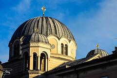 La cupola del tempio di San Spiridione a Trieste (Italy) (giannizigante) Tags: cupola tempio trieste italia