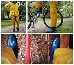 Seite Yellow Rainwear1 (Gummifreak) Tags: rainwear regenbekleidung gummistiefel