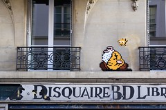 Invader PA-1277 (OliveTruxi (1 Million views Thks!)) Tags: arturbain contemporaryart invader invaderwashere mosaic mosaiques pa1277 paris spaceinvaders streetart tiles urbanart france