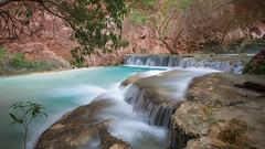 20170411-Havasu-1022 (BX's Photos) Tags: havasupai havasu supai falls mooney grand canyon water waterfalls havasucreek havasucanyon arizona turquoise grandcanyon coloradoriver