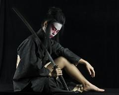 Kamisama (Bong Manayon) Tags: bongmanayon pentaxk3 pentax k3 geisha katana quezoncity philippines bestportraitsaoi