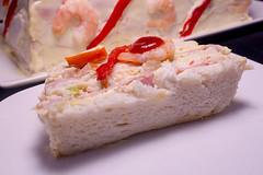 Restaurante Conde Garay - Pastel de marisco y atún