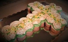 Cupcake Cross Cake (TheBakeryFairy♥) Tags: cupcakes cupcake cupcakecrosscake cross cake remembrance baptism communion easter faith religious christian symbol ceremony inmemoryof memorial