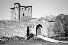 Le château d'Arques (Philippe_28 (maintenant sur ipernity)) Tags: arques 11 aude france europe olympus trip 35 24x36 argentique analogue camera photography film caffenol château castle