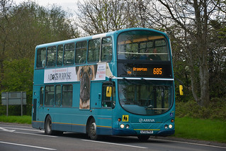 Arriva North East 7492 LF02PKX