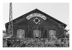 CENTRAL TERMOELECTRICA DE MASSARELOS-1930  ( Oporto-Portugal ) (RAMUBA) Tags: central termoelectrica massarelos oporto portugal porto bw siemens generador