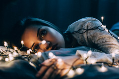 Kris (valeriezabosina) Tags: valeriezabosina girl beauty best beautiful light night nightlight newyear winter