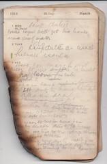 1 -7 Mar 1915 (wheresshelly) Tags: ww1 wwi world war 1 australia gallipoli egypt military australian 4th field ambulance anzac morton wilfred