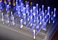 The Lights Of Logitech-HMM! (✪☺✿4 Days To Go!✿☺✪) Tags: macromondays incamerablur intentionalblur keyboard mine lit logitech icm letters blue orange black
