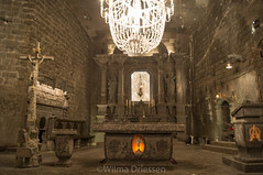 Salt mine, Wieliczka Poland (Wildrie) Tags: salt saltmine polen poland krakau tourist culture nature 2017 april sonya580