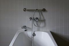 Bath (on Explore) (Jan van der Wolf) Tags: map16991v bad badkamer bath bathroom tap kraan slang klooster monastery dissymmetry