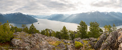 Sunshine (Jason Pineau) Tags: camping hiking backpacking leading peak anvil island howesound britishcolumbia bc view summit
