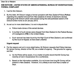 Kim Dotcom: New Zealand Police should question FBI Director Comey today about the theft of my data. I filed this formal complaint. #Queenstown #FVEY via /r/WikiLeaks https://twitter.com/KimDotcom/status/856610753356242944 https://twitter.com/KimDotcom/sta (#B4DBUG5) Tags: b4dbug5 shapeshifting 2017says