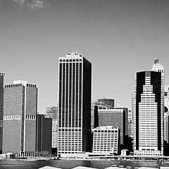 New York, Manhattan (hansziel99) Tags: newyork usa us manhattan nikon nikond70 blackwhite blackandwhite bw square bsquare building skyline
