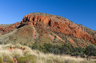 Ormiston Gorge in the West MacDonnell Ranges in Northern Territory, Central Australia