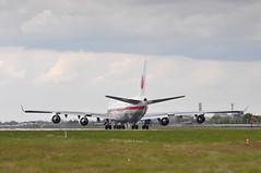 JF002 LHR-RJCJ (A380spotter) Tags: takeoff departure lineup boeing 747 400 vip 201101 ship101 japaneseairforceone 日本国 japan 日本国政府専用機 japanesegovernmentexclusiveaircraft 特別航空輸送隊第701飛行隊 specialairliftgroup701stsquadron 航空自衛隊 japanairselfdefenseforce jasdf jaf jf jf002 lhrrjcj runway27r 27r london heathrow egll