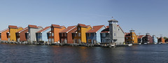 Reitdiep Groningen (Roelie Wilms) Tags: groningen reitdiep architectuur architecture jachthaven harbor haven harbour nederland