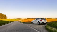 Twisty roads (MSC_Photography) Tags: bmw 116i f20 f21 1 series hatch sport m power first car white front lichter scheinwerfer lights alpinweis performance top streifen stripes lg g4 f18 smartphone