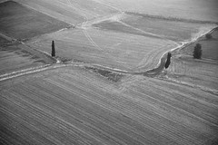 Landscape from above (chany14) Tags: bw israel   galile
