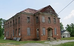 Thomaston, AL - Thomaston Colored Institute (built 1910, listed on National Register) (RuralSWAlabama) Tags: school alabama institute colored blackbelt thomaston marengocounty