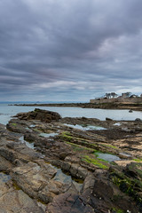 Down on the rocks (CRC Photography) Tags: ocean sea water clouds coast scotland rocks fife
