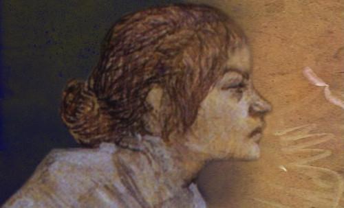 "Las Madeleines escuchando la soleada soledad, descripciones de Henri de Toulouse Lautrec (1889) y Pablo Picasso (1904). • <a style=""font-size:0.8em;"" href=""http://www.flickr.com/photos/30735181@N00/8815727160/"" target=""_blank"">View on Flickr</a>"