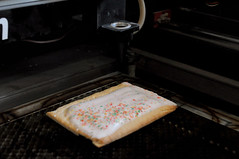 Pop Tart Guns (flickrnumi) Tags: school breakfast education hype violence guns nra schoolshooting lasercut nannystate joshuawelch robinficker countyschoolboard poptartgun