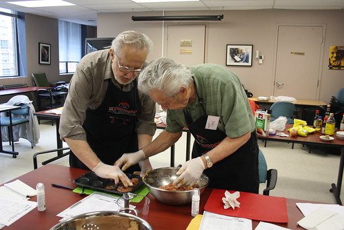 Men's Cooking Club - April 2013 - SPRINT and Alzheimer Society 117