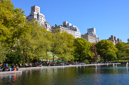 nyc newyork pond unitedstates centralpark d5100