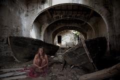 La Camera della Morte (Buldrock) Tags: italy abandoned barche sicilia sanvitolocapo tonnara riservadellozingaro tonnaradelsecco stefanobuldrini