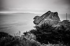 Marin-1176 (markitos57) Tags: ocean sanfrancisco california blackandwhite fog pacific marin windy goldengatebridge goldengate headlands sausalito pointbonita fogcity foggycity