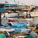 Barques de pêche au port de Djibouti