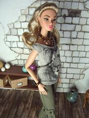Lion shirt (Levitation_inc.) Tags: fashion shirt model doll ooak lion barbie levitation muse clothes poppy royalty parker pivotal nuface