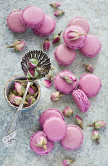Rose macarons (The Little Squirrel) Tags: photography sweet sweets macarons nikond700