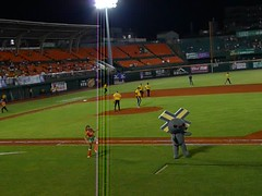 P1000724 (celeste_mer) Tags: 棒球 台南棒球場 2009年