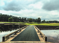 Preston Wood (lifecameracreation) Tags: travel bridge summer vacation usa green sports golf island nc weekend gorgeous south northcarolina southern golfcourse countryclub fairway hazard clubhouse golfer challenging golfclub