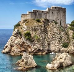 Fort Lawrence (Lovrijenac), Dubrovnik (jurassicjay) Tags: travel castle architecture buildings europe mediterranean fort croatia oldtown fortress dubrovnik adriatic dalmatia kingslanding dalmatiancoast