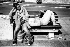 IMG_0025 (BobbyJamez) Tags: street blackandwhite bw 35mm blackwhite mju noiretblanc bretagne olympus nb hp5 ilford noirblanc quiberon