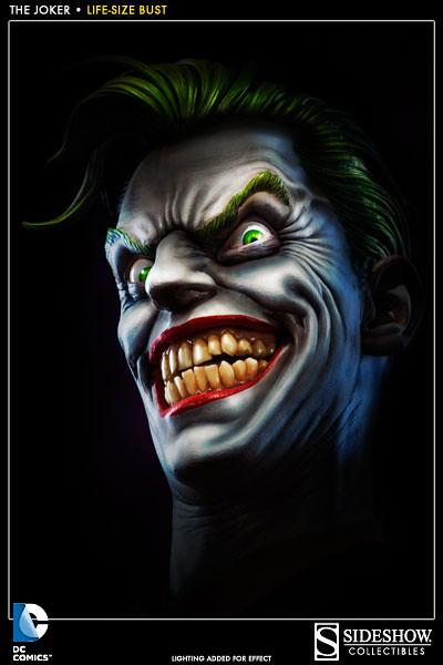 犯罪王子登場!SIDESHOW 小丑 1:1胸像