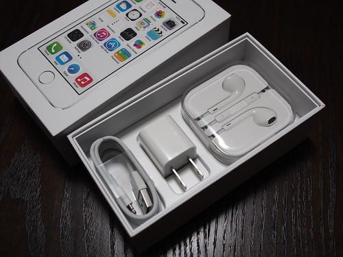 iPhone5s 同梱品