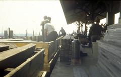 19670527 02 CTA Lake St. L after Cicero Ave. station fire (davidwilson1949) Tags: chicago illinois cta transit rapidtransit
