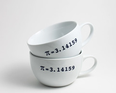 White Cups with Navy Pi (lltownley) Tags: white art cup coffee ceramics geometry coffeecup navy pi math mug pottery coffeemug etsy teacup cappuccino demitasse whiteandnavy