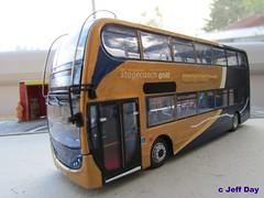 YN63BXA (jeff.day48) Tags: scania adl code3 modelbus enviro400 n230ud stagecoachgold stagecoachsouthwest yn63bxa