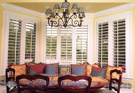 The Louver Shop Jackson features truly custom plantation shutters