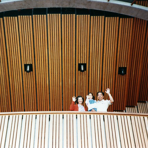 With my late maternal grandparents at the Sydney Opera House, c. 1984
